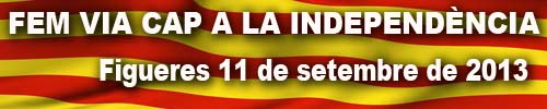 FEM VIA CAP A LA INDEPENDENCIA